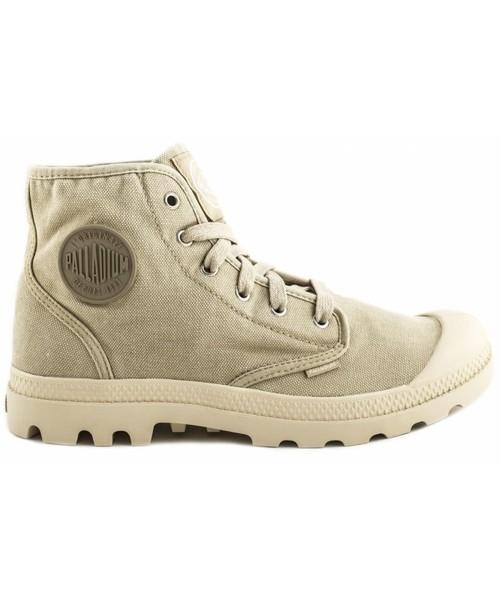 sprzedaż obuwia najlepszy dostawca gładki trapery męskie Palladium Buty PAMPA HI Ecru Sahara 02352238