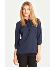 koszula Greenpoint - Elegancka bluzka z ozdobnym wiązaniem