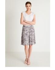 Spódnica Wiskozowa spódnica z nadrukiem - Greenpoint Greenpoint