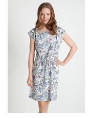 Sukienka Wiskozowa sukienka z nadrukiem - Greenpoint Greenpoint