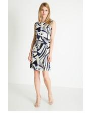 Sukienka Sukienka z ozdobnym nadrukiem - Greenpoint Greenpoint