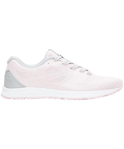 613d7e7e3 4F Buty sportowe damskie OBDS202 - róż pastelowy -, buty damskie ...