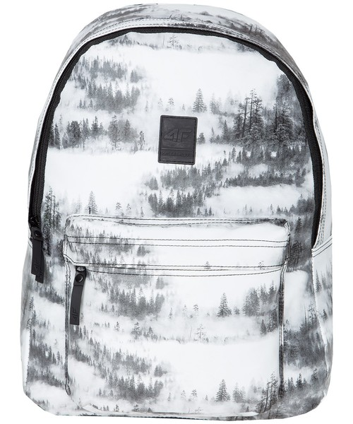 c2437d4f83ce7 Plecak 4F Plecak miejski damski PCD200Z - allover czarno-biały -