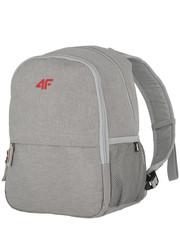 f2bce0e389bf6 Plecak Plecak miejski PCU002 - chłodny jasny szary melanż - 4f.com.pl 4F