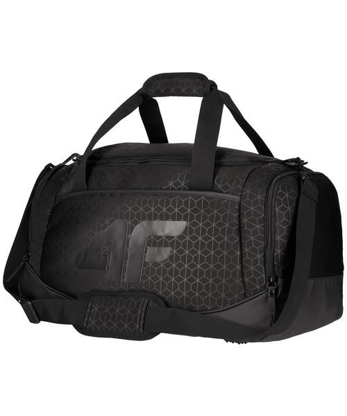53a5ff8cb5254 Torba podróżna /walizka 4F Torba sportowa damska TPU204 - głęboka czerń