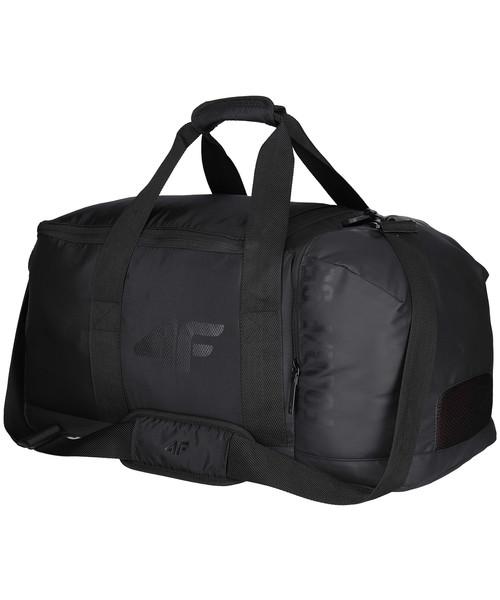 f6833c7a485ae 4F Torba sportowa TPU201 - głęboka czerń, torba podróżna /walizka ...