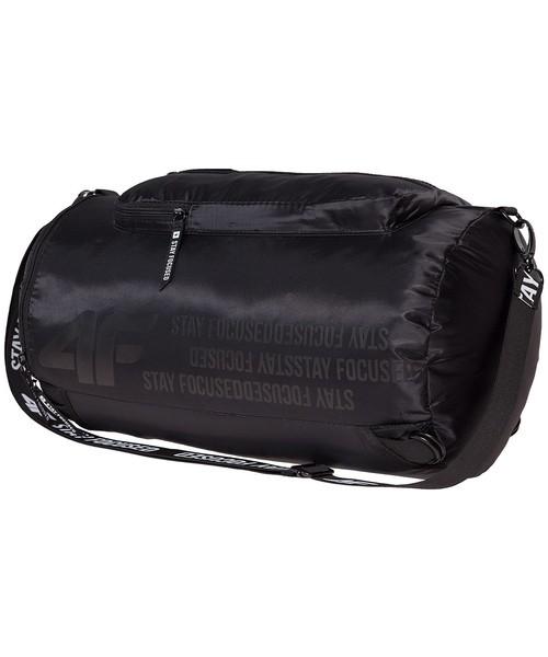 0effaa798db2b Torba podróżna /walizka 4F Torba sportowa 2w1 TPU218 - głęboka czerń