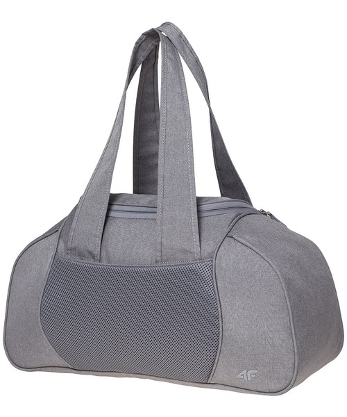d7a691d5c6a8b Torba podróżna  walizka 4F Torba sportowa damska TPD200A - jasny szary  melanż -