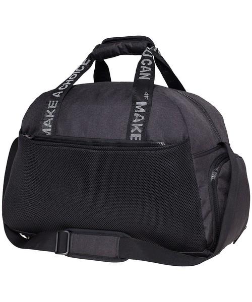 d4c40fd22b62a 4F Torba sportowa damska TPD300 - czarny -, torba podróżna /walizka ...