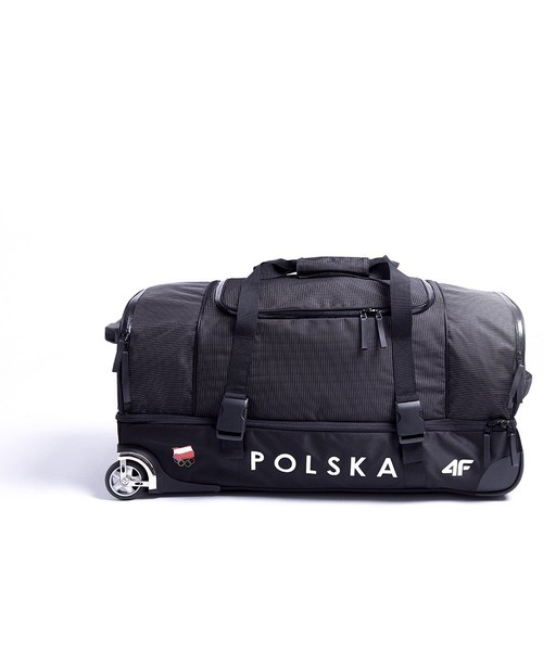 fd8113d9d5d5b 4F Torba sportowa Polska Pyeongchang 2018 TNK900 - czarny -, walizka ...