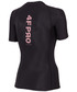 Bluzka 4F Koszulka kompresyjna damska Pro TSDF400A - czarny