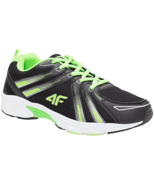 sportowe buty dziecięce 4F Buty sportowe dla dużych chłopców JOBMS400Z czarny