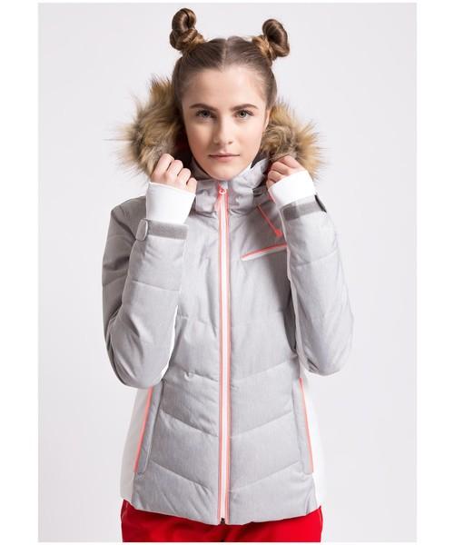kurtka narciarska damska 4f melanż