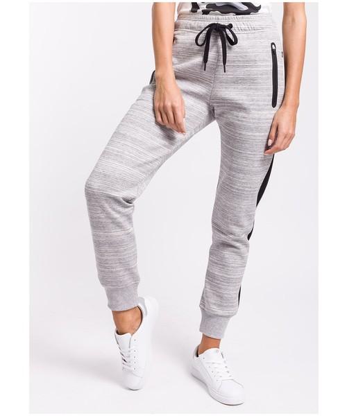 71acb5eae 4F Spodnie dresowe damskie SPDD222 - jasny szary melanż -, spodnie ...