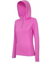 Bluzka Bluza treningowa damska BLDF001 - neonowy róż - - 4f.com.pl 4F