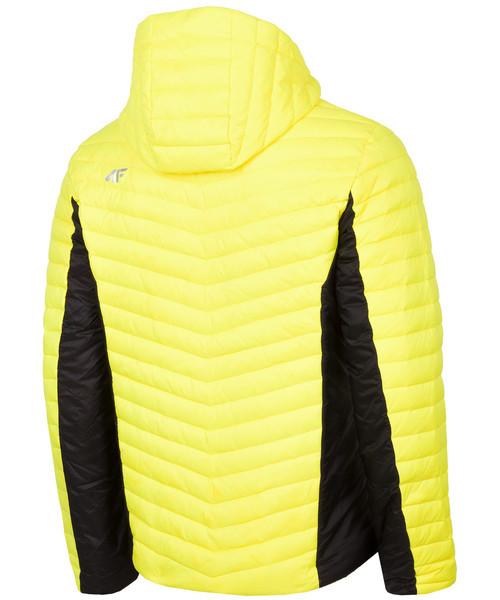 kurtka męska 4f żółta