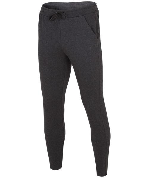 ee4c5a594c8a Spodnie męskie 4F Spodnie dresowe męskie SPMD302 - głęboka czerń melanż