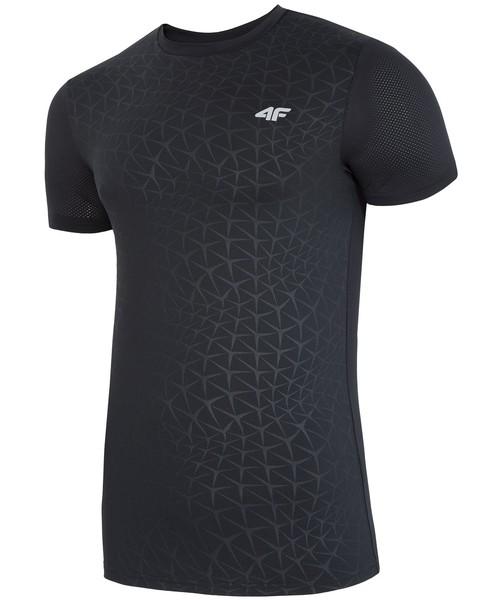 T shirt koszulka męska 4F Koszulka treningowa męska TSMF003z czarny
