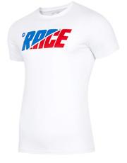 0adf01d986f3a3 T-shirt - koszulka męska 4FT-shirt męski TSM225 - biały - 4f.com.pl