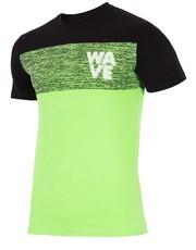 4F Koszulka treningowa męska TSMF204 jasny zielony neon