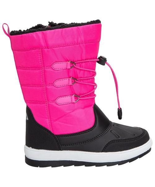c366f9eab Buty dziecięce 4F Buty zimowe dla dużych dziewcząt JOBDW206z - różowy -