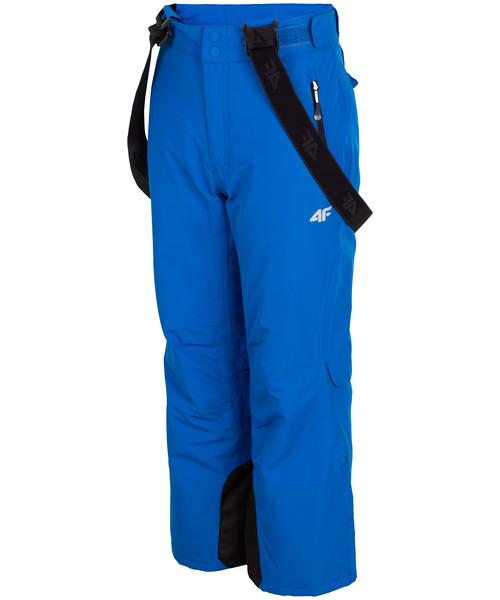 4e0bf4af48 Spodnie 4F Spodnie narciarskie dla dużych dzieci (chłopców) JSPMN400 -  kobalt