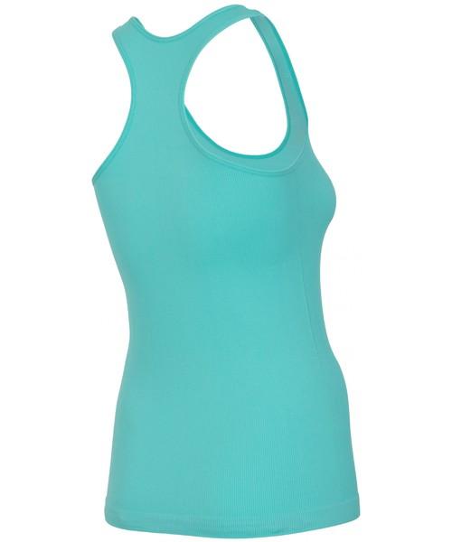 0efa28b90dd5dd Top damski 4F Koszulka bez rękawów damska TSD301 - miętowy fitness -
