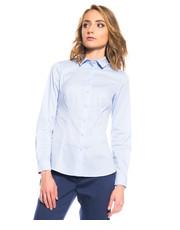 Koszula Dopasowana koszula z długim rękawem - Bialcon.pl Bialcon