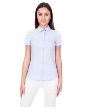 Koszula Błękitna koszula z krótkim rękawem - Bialcon.pl Bialcon