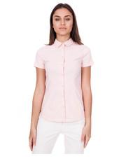 Koszula Koszula z krótkim rękawem w kolorze pudrowego różu - Bialcon.pl Bialcon