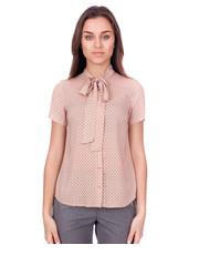 Bluzka Bluzka we wzory z krótkim rękawem - Bialcon.pl Bialcon
