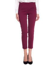 Spodnie Bordowe spodnie w kant - Bialcon.pl Bialcon