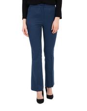 Spodnie Spodnie w kant z nogawkami w lekki dzwonek - Bialcon.pl Bialcon