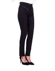 Spodnie Bawełniane spodnie z wiązaniem przy nogawkach - Bialcon.pl Bialcon