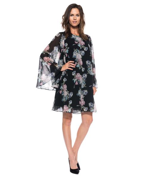 37d9980088bf93 Bialcon Sukienka typu parasolka z szerokim rękawem, sukienka - Butyk.pl