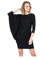 Sukienka Delikatna, czarna sukienka z drobinkami srebra - Bialcon.pl Bialcon