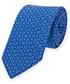 Krawat Lancerto Krawat Niebieski Mikrowzór