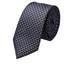 Krawat Lancerto Krawat Granatowy Wzór Geometryczny