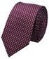 Krawat Lancerto Krawat Bordowy Mikrowzór