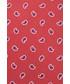 Krawat Lancerto Krawat Czerwony Paisley