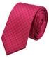 Krawat Lancerto Krawat Różowy Mikrowzór