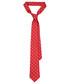 Krawat Lancerto Krawat Czerwony w Kwiatki
