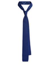 Krawat Krawat Dzianinowy Granatowy - Lancerto.com Lancerto