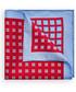 Poszetka butonierka Lancerto Poszetka Czerwona 4 Wzory