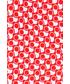 Poszetka butonierka Lancerto Poszetka Czerwona
