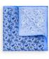 Poszetka butonierka Lancerto Poszetka niebieska paisley