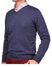 7e78efd40164 Lancerto Sweter Bawełniany Matt Czerwony