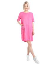 Sukienka BLUZKA 63-9249 FUXIA - Unisono.eu Unisono