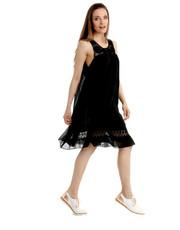 Sukienka SUKIENKA 15-2884 NERO - Unisono.eu Unisono