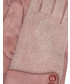 Rękawiczki Unisono RĘKAWICZKI Z APLIKACJĄ 164-19-66 ROSA